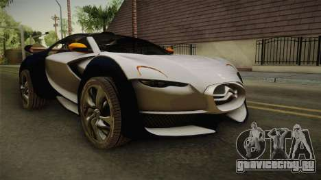 Citroën Survolt v2 Glossy для GTA San Andreas вид справа
