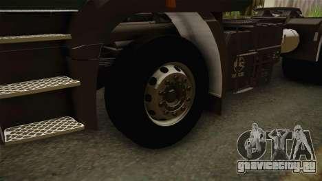 Iveco EuroTech 400E34 Tractor 6x4 v3.2 Final для GTA San Andreas вид сзади