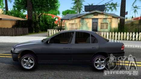 Opel Omega 1998 для GTA San Andreas вид слева