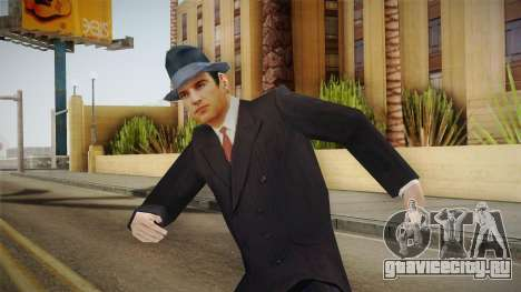 Mafia - Thomas Angelo Normal Suit and Hat для GTA San Andreas