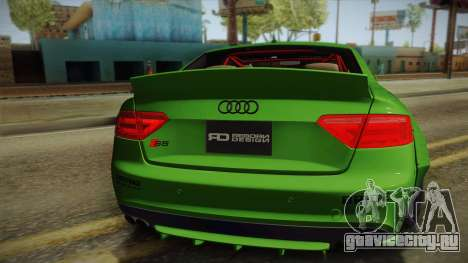 Audi S5 Liberty Walk LB-Works для GTA San Andreas вид сзади