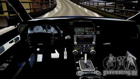 Finnish Police Volkswagen Passat (Poliisi) для GTA 4 вид изнутри