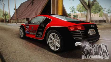 Audi Le Mans Quattro 2005 v1.0.0 YCH Dirt для GTA San Andreas колёса