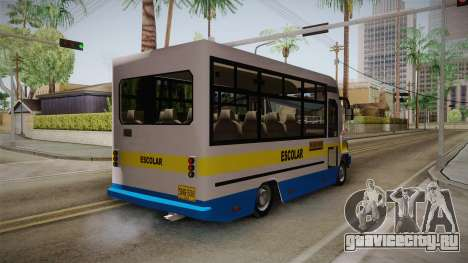 Ford Econoline 150 Microbus для GTA San Andreas вид сзади слева