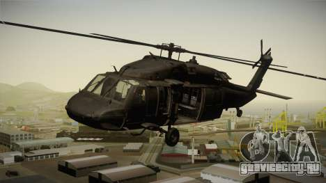 CoD 4: MW - UH-60 Blackhawk US Army Remastered для GTA San Andreas