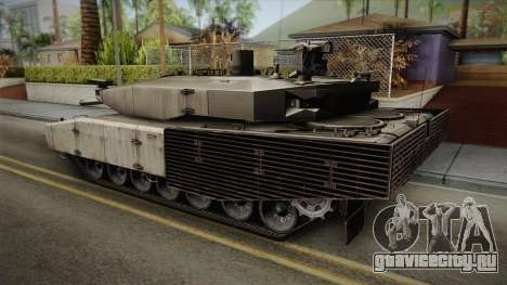 Leopard 2 MBT Revolution для GTA San Andreas вид слева