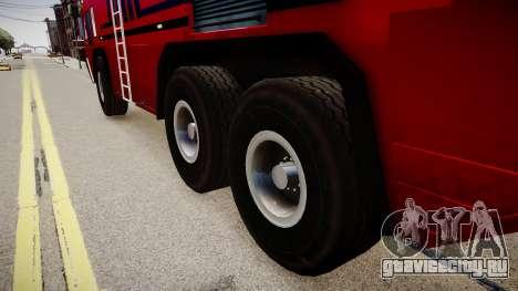 Camion Hydramax AERV v2.4-EX для GTA 4 вид сзади