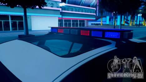 New police lights (For Modders) для GTA San Andreas