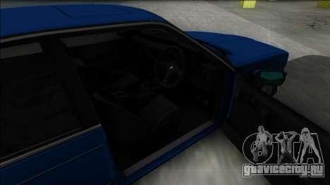 BMW M6 E24 для GTA San Andreas вид сзади слева