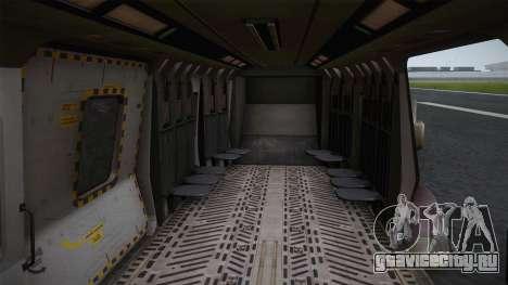 CoD: Ghosts - NH90 для GTA San Andreas вид изнутри