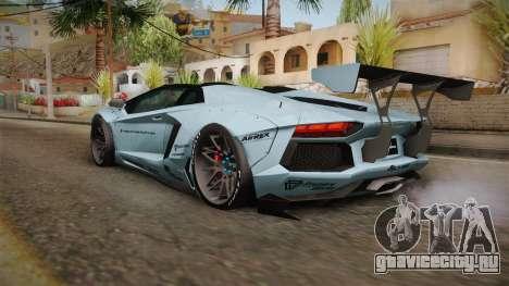Lamborghini Aventador LP700-4 Roadster 2013 v2 для GTA San Andreas вид справа