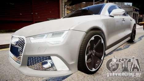 Audi RS7 2015 для GTA 4