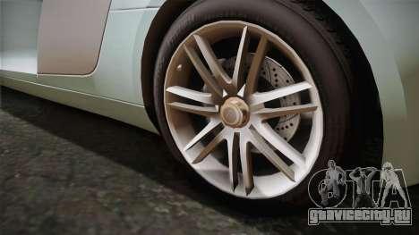 Audi Le Mans Quattro 2005 v1.0.0 Dirt PJ для GTA San Andreas вид сзади слева