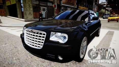 Chrysler 300C v1.3 для GTA 4 вид сзади слева