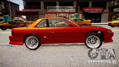 Nissan Silvia S13 для GTA 4 вид слева