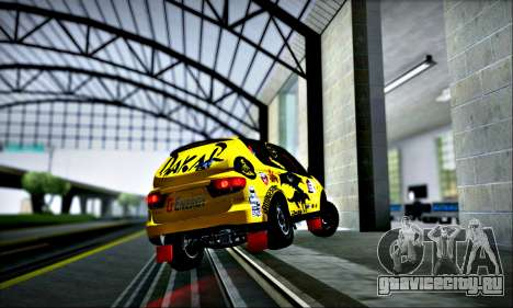 SsangYong Kyron 2 Rally Dacar для GTA San Andreas вид сверху