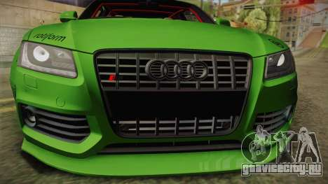 Audi S5 Liberty Walk LB-Works для GTA San Andreas вид справа