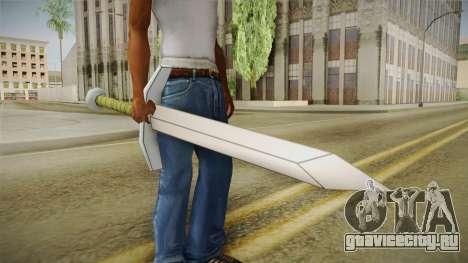 DBX2 - Trunks Sword для GTA San Andreas