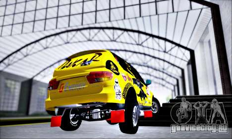 SsangYong Kyron 2 Rally Dacar для GTA San Andreas вид слева