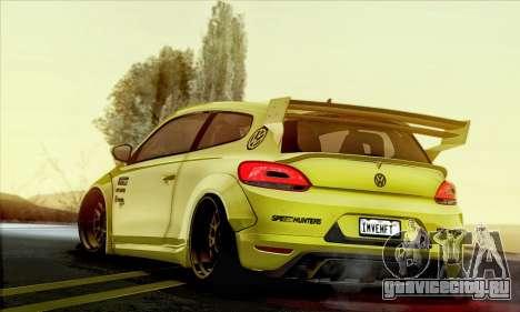 Volkswagen Scirocco R Ngasal Kit для GTA San Andreas вид слева