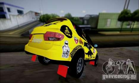 SsangYong Kyron 2 Rally Dacar для GTA San Andreas вид сбоку