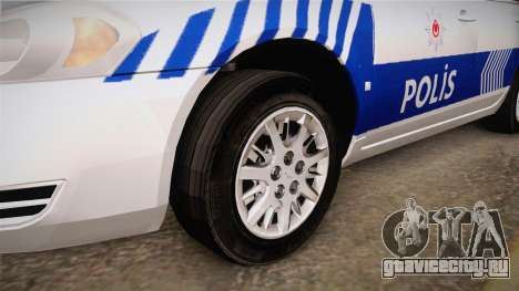 Chevrolet Impala Turkish Police для GTA San Andreas вид сзади