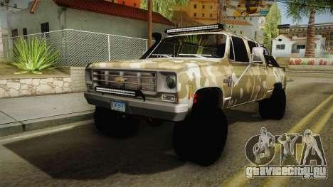 Chevrolet Silverado 1978 4x4 для GTA San Andreas