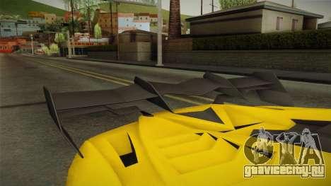 GTA 5 Pegassi Lampo для GTA San Andreas вид изнутри