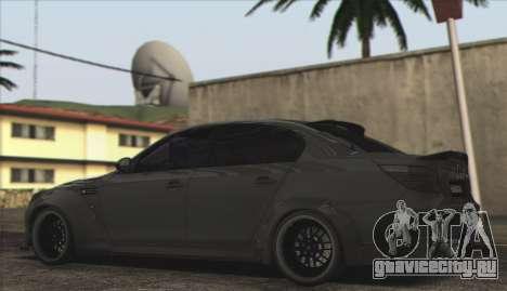 BMW E60 Hamann для GTA San Andreas вид слева