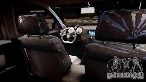 Opel Astra 1.9 TDI для GTA 4 вид изнутри