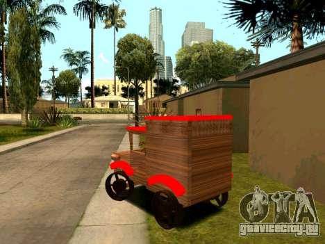 Wooden Toy Truck для GTA San Andreas вид справа