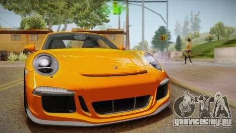 Porsche 911 R (991) 2017 v1.0 для GTA San Andreas вид справа