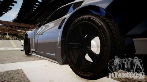 Nissan 370Z Sport для GTA 4 вид сзади