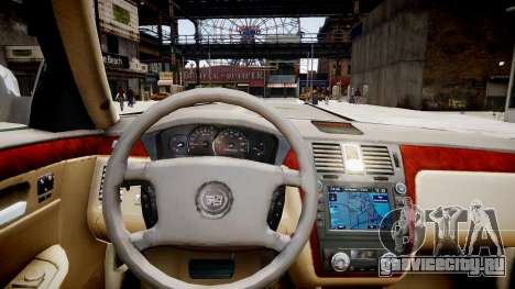 Cadillac CTS-V Coupe для GTA 4 вид изнутри