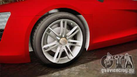 Audi Le Mans Quattro 2005 v1.0.0 YCH Dirt для GTA San Andreas вид сзади