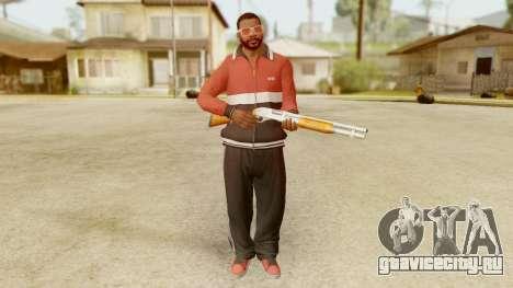 GTA 5 Franklin Jacket and Tracker Pant v1 для GTA San Andreas третий скриншот