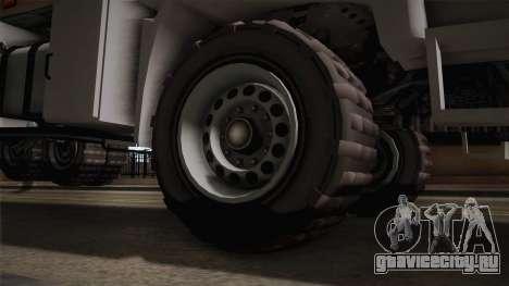 GTA 5 MTL Brickade IVF для GTA San Andreas вид сзади