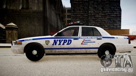 Ford Crown Victoria Police In 2009 для GTA 4 вид слева