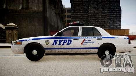 Ford Crown Victoria Police In 2009 для GTA 4 вид слева