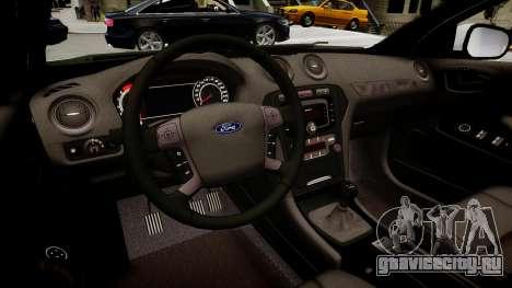 Hungarian Ford Police Car для GTA 4 вид изнутри