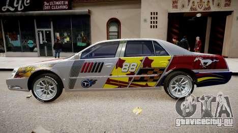 Cadillac CTS-V Coupe для GTA 4 вид справа