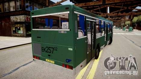 НефАЗ-5299 для GTA 4 вид сзади слева