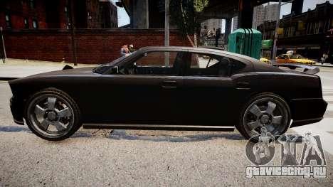 NYPD Police Dodge Charger для GTA 4 вид слева