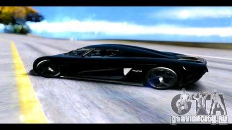 Koenigsegg Regera для GTA San Andreas вид слева