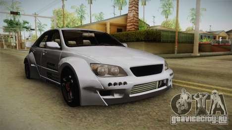 Lexus IS300 Rocket Bunny v2 для GTA San Andreas