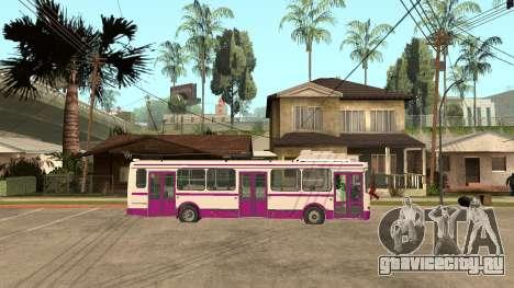 МТРЗ 5279 Русь для GTA San Andreas вид сзади слева