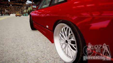 Nissan Silvia S13 для GTA 4 вид сзади