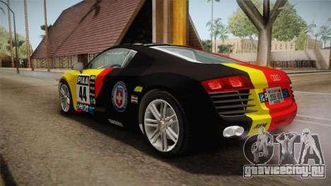 Audi Le Mans Quattro 2005 v1.0.0 YCH Dirt для GTA San Andreas салон