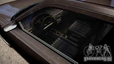 NYPD Police Dodge Charger для GTA 4 вид изнутри