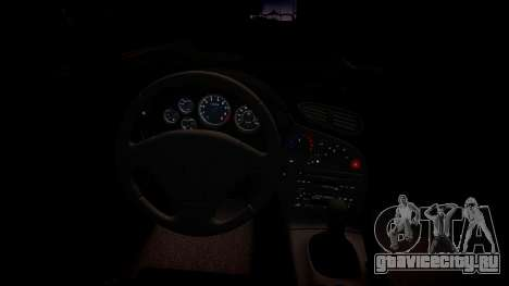 Mazda RX-7 для GTA 4 вид изнутри